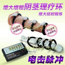Real Man Men's Electric Pulse Extender Penis Enhancer Ring Enlarger Erection