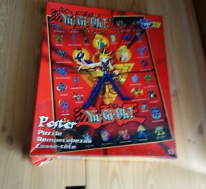 YU-GI-OH! POSTER JIGSAW PUZZLE 250 Pieces Mattel 2002 ANIME Action Children Kids