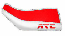 Honda ATC 250SX Red White Logo ATV Seat Cover TG20183195