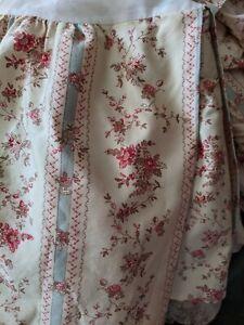 Ralph Lauren American Living Hillsborough King Bed Skirt  Beautiful