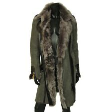 LUXURY HOTEL PARTICULIER LEATHER-FUR COAT! WORTH 4000$