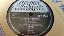 PAT BOONE FRIENDLY PERSUASION &  CHAINS OF LOVE LONDON HLD8346