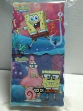 SpongeBob Squarepants Snack Container Box BPA Free 2 Pc Storage pink blue