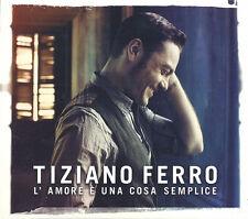 Tiziano Ferro - L'amore E' Una Cosa Semplice ( CD - Album )