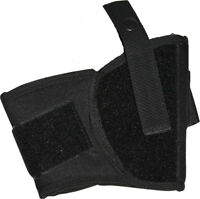 Black Ankle Gun Holster Tactical Law Enforcement Police Security CCW Conceal