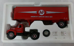 Model B-61 MACK TRACTOR/TRAILER - by First Gear A&P Grocery New in box