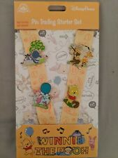 Disney Parks Winnie the Pooh and Friends Pin Trading Starter Lanyard Set New