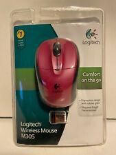 Logitech Wireless Mouse M305 Pink BRAND NEW SEALED