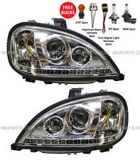 Freightliner Columbia Headlight with LED - Driver & Passenger Side