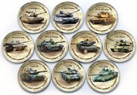 Zimbabwe Tank Set 2018 UNC unusual coinage