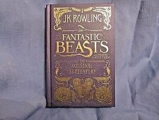 Fantastic Beasts and Where To Find Them-The Original Screenplay by J K Rowling