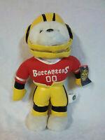 "Bear Buccaneers 14"" Football NFL Plush Soft Toy Stuffed Animal"