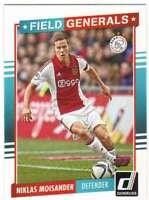 2015 Panini Donruss Soccer Field Generals #10 Niklas Moisander Ajax