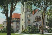 CE-305 IL, Watseka, First Methodist Church Linen Postcard Illinois