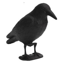 Black Crow Decoy Predator Scarecrow Mice Pest Control Repellent Garden Decor