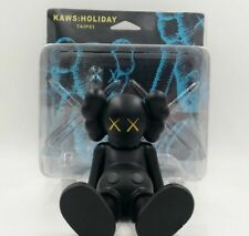 """7"""" inch KAWS Holiday Vinyl Limited Toy Statue Figure Gift Black Color in Box"""
