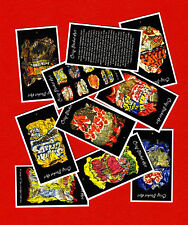 CARD SET VINTAGE CRISP PACKET ART MONSTER MUNCH SMITHS RANCHEROS FOOTBALL CRAZY