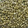 400 Gold Alphabet Letter Beads 6.5mm Acrylic Jewellery Making Beads