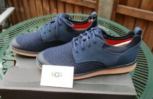 Mens UGG Hepner Hyperweave Trainers Navy Blue Size UK 8 Brand New In Box