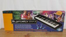 New listing Creative Blasterkey Mp3 Midi Keyboard Model Bk49 (New) Original- Open Box-Unused