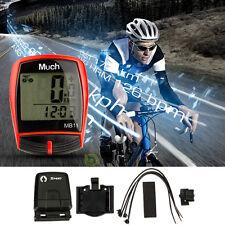 Wireless Waterproof Cycle Bicycle Bike LCD Computer Speedometer Odometer Speed