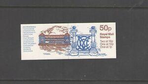 GB: Sc. BK247 Var / 50 PENNY -QE II DECIMAL- Pane of 4 / Folded Booklet /MNH