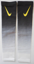 Nike Pro Dri-Fit Haptic Arm Sleeves Black/White Youth L/XL