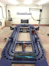 New 22 Feet Auto Body Frame Machine With Tools Cart And Tool And Clamps