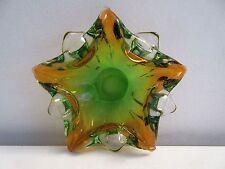 Vintage Midcentury Modern MURANO Art Glass Star Fish Shaped Bowl Stunning!