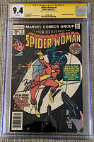 SPIDER-WOMAN #1 CGC 9.4 SS SIGNED MARV WOLFMAN ORIGIN STORY (1978) MARVEL