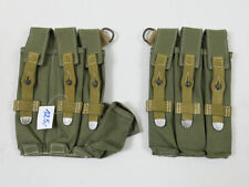 #J Wehrmacht Afrikakorps MP40 PAAR Magazintasche MP38/40 Schmeisser Tropen DAK