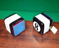 ( 2 )  NEW Billiard Pool Cue Chalk Holders Signature Series Table Chalker