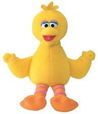 Sesame Street Mini Beanie Big Bird 17cm Bright Yellow