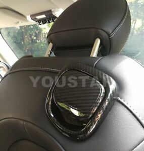 Seat Release Handle Cover Trims 2x for MINI Cooper S 3DR F56 F57 CARBON EFFECT