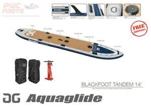 AQUAGLIDE Blackfoot Tandem i-Sup 14' PaddleBoard Inflatable Package 58-5617114