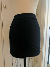 NWT Club Monaco Ruth Knit Skirt Size Small S (Black) MSRP $79.50