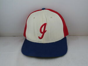 Indianapolis Indians Hat (VTG) - Tri Colour Pro Model by New Era - Fitted 7 3/8