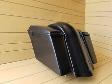 "SOFTAIL 4""STRETCHED SADDLEBAGS-LIDS AND REAR OVERLAY FENDER FOR HARLEY DAVIDSON"