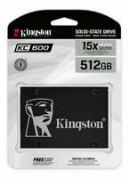 Kingston KC600 512Go SATA3 6Gb/s SKC600/512G 2.5-inch Solid State Drive SSD
