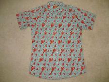 Run & Fly Retro Vintage Indie 50s 60s 80sLobster Hawaiian Shirt Unisex Size S