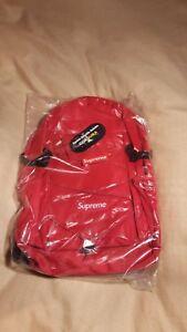Supreme Backpack Red or Black