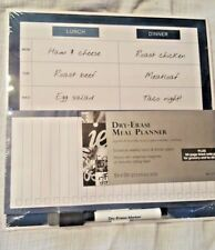 Office Depot Dry Erase Menu Planner with lined pad for grocery/to-do lists