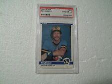 1984 Fleer PSA Gem Mint 10 #203 Roy Howell Milwaukee Brewers low pop 6 set reg