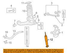 GM OEM Front Suspension-Shock Absorber 22187159