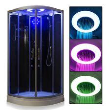 No Steam Quadrant Hydro Shower Cubicle Enclosure Corner Bath Cabin Room 900*900