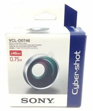 VINTAGE! Sony VCL-D0746 Wide Conversion Lens for 46mm cameras