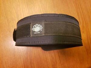 Atlus USA Athletic Black Nylon Weight Lifting Training Belt Large 33-39