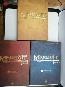 3 coffret dvd kaamelott - l. Ill et lV