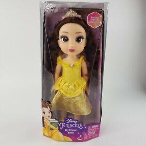 "Disney Princess My Friend Belle 14"" Toddler Doll Beauty & The Beast NEW"
