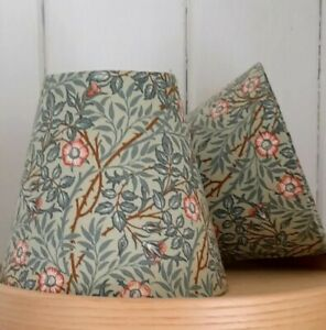Briar Rose William Morris cottage style  Candle Clip Lampshade   wall light
